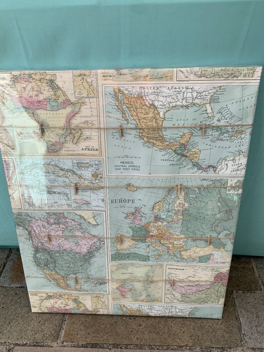gallery/Map Memo Board